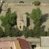 Ussana, Chiesa di San Saturnino - da Sardegna Foto Aeree - Ortofoto e Dati cartografici © Agea, Tutti i diritti riservati