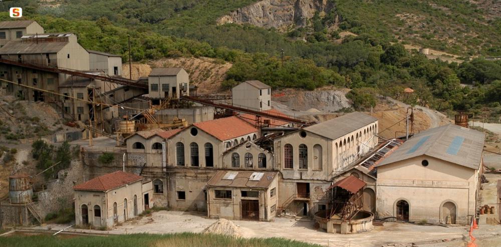 Guspini, miniera di Montevecchio