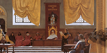 Giuseppe Sciuti, Proclamatzione de sa Repùblica tataresa, 1880 ca.