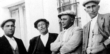 Pepe Sozu, Remundu Piras, Barore Tucone e Barore Sassu, 1946