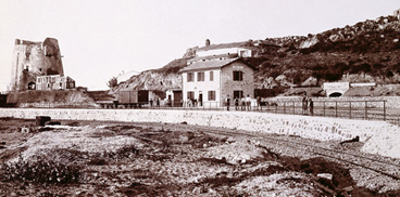 La stazione ferroviaria di Arbatax, Vittorio Besso