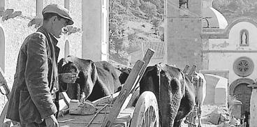 Mario De Biasi, Desulo, via Lamarmora, 1955