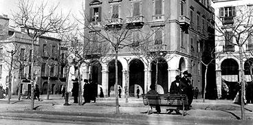 Giulio Pili, Cagliari, via Roma