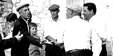 Morra al matrimonio di Peppino Satta, A. F. W. Bentzon