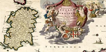 Carta della Sardegna, XVIII secolo