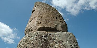 Làconi, pedra fita de Corte Noa