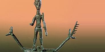 Unu brunzetu de su Museu Archeològicu de Teti