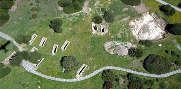 Carbònia, necròpoli de Monte Sirai