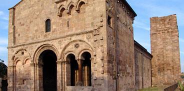 Otieri, crèsia romànica de Santu Antiogu de Bisàrciu, su de XI-XII sèc.