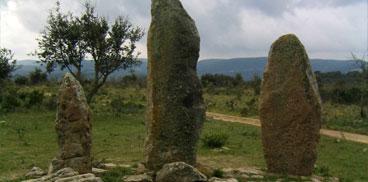 Goni, sepulturas megalìticas de Pranu Mutteddu