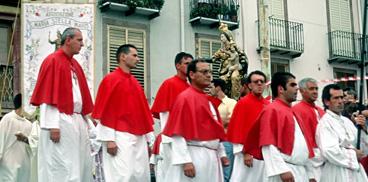 Bosa, festa di Santa Maria Stella Maris: Processione