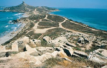 Cartina Sardegna Tharros.Sardegna Cultura Luoghi Della Cultura Aree Archeologiche